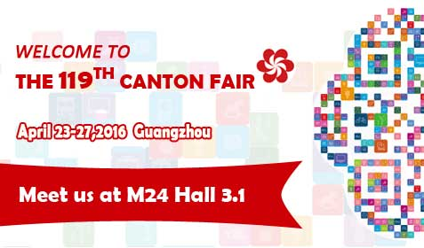FSHINY at 119th. Canton Fair April 23-27 2016 Guangzhou