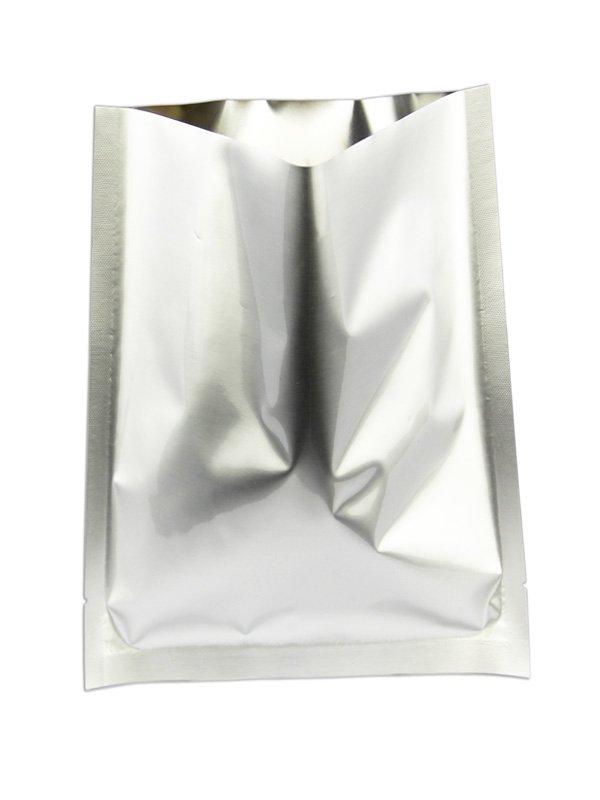 Aluminum Foil Flat Pouches Silver