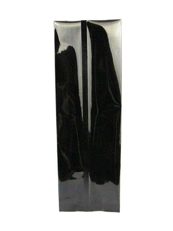 Aluminum Foil Side Gusset Bag Black