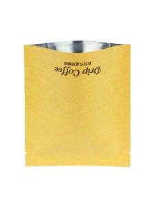 Coffee Flat Kraft Pouches / Tea Bags
