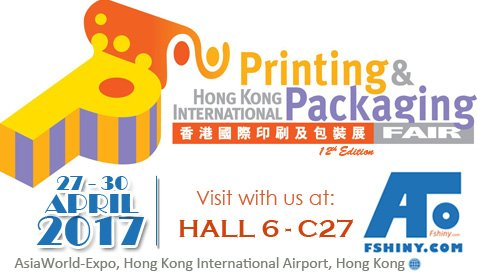Fshiny at Hong Kong International Printing & Packaging Fair