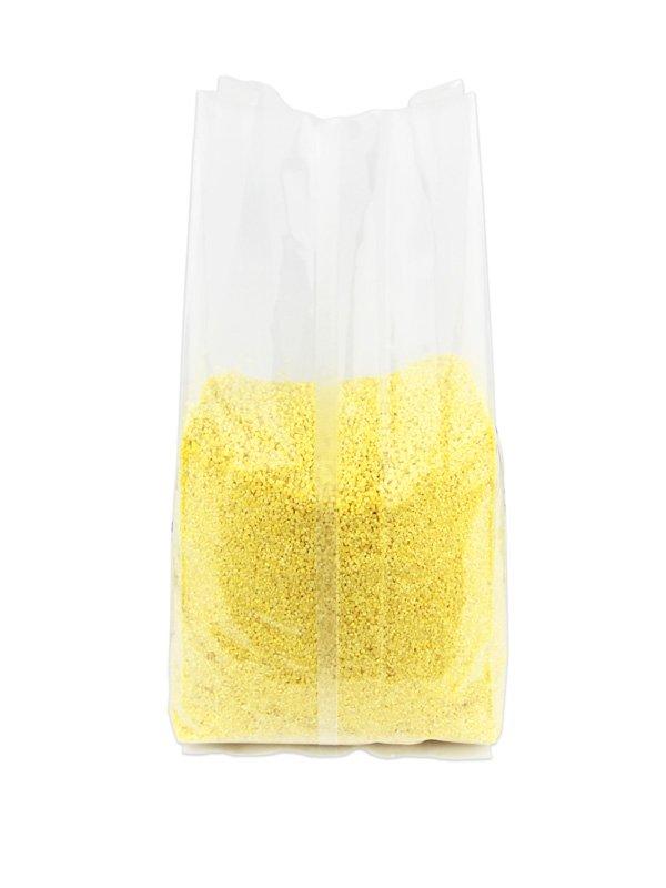 Plastic Side Gusset Bag Clear Back-Seal