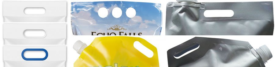packaging pouch handle Fshiny