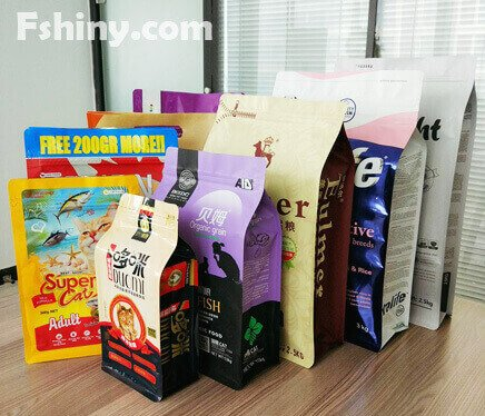 Customized Printing Pet Food Packaging Bag
